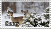 Deer stamp by Tollerka