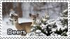 Deer stamp by Tollerka