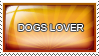 Dogs Lover stamp
