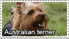 Australian terrier stamp by Tollerka