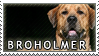 Broholmer stamp by Tollerka