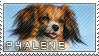 Phalene stamp by Tollerka