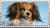 Phalene stamp by Tollerka