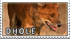 Dhole stamp by Tollerka