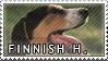 Finnish hound stamp by Tollerka