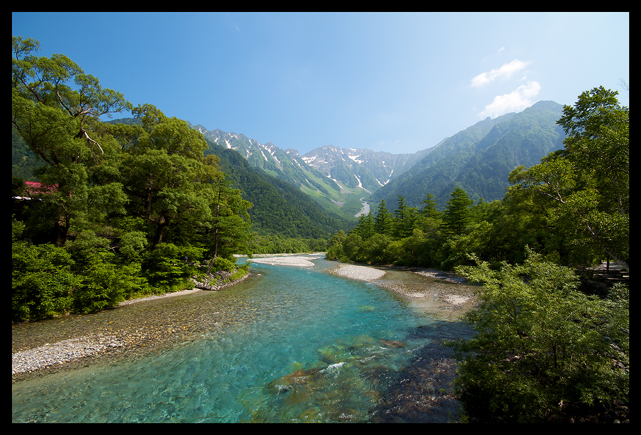 023: kamikochi postcard view by bega on DeviantArt
