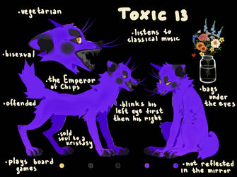 my second OC Toxic by kristasy