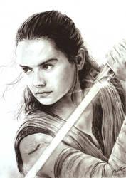 The Last Jedi - Rey by INH99