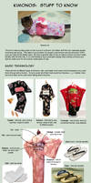 Kimonos:  Stuff to Know
