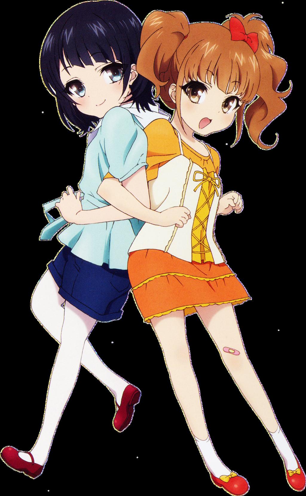 Renders anime Nagi_no_asukara_render_by_xsweetielovee-d8ekppx