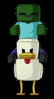 Chicken Jockey by sambeawesome