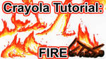 Tutorial: How to Draw Fire w Crayola Markers [VID]