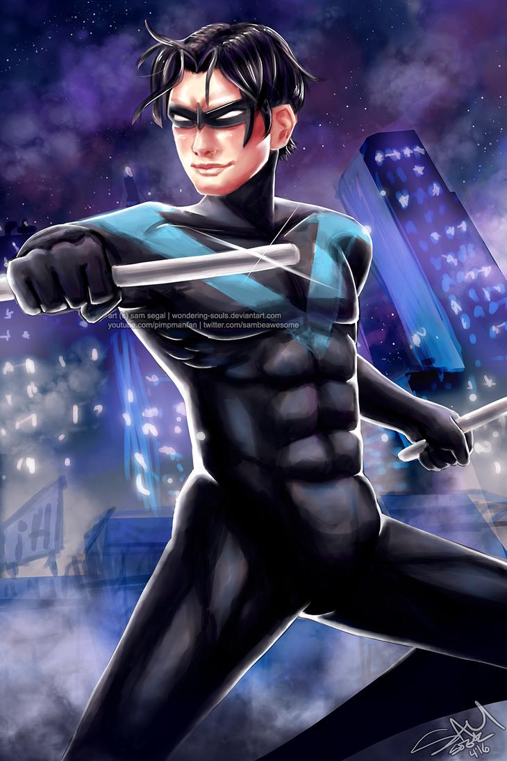 Nightwing by wondering-souls