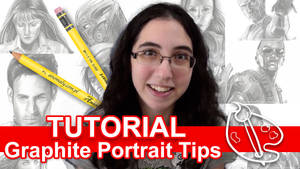 Tutorial: Graphite Portrait Tips [VIDEO] by sambeawesome