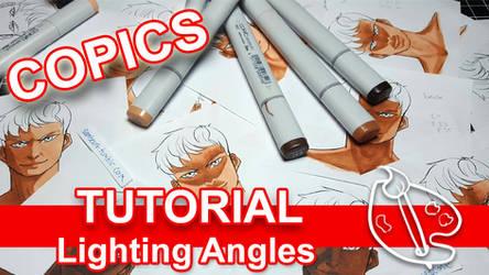 Tutorial: Lighting Angles w Copics (VIDEO) by sambeawesome