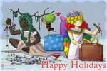 Happy Holidays 2016 by sambeawesome