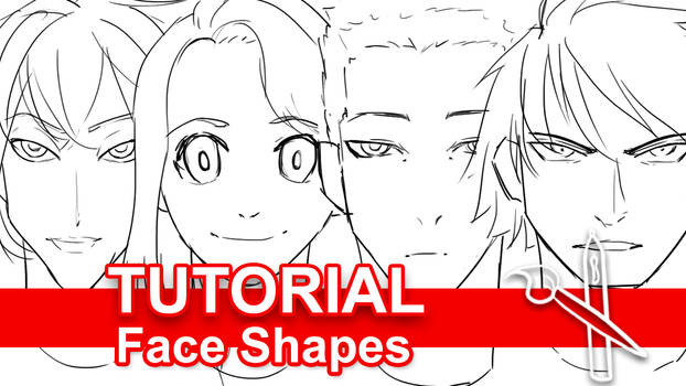 Tutorial: Drawing Unique Face Shapes [Video] by sambeawesome