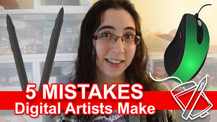 5 Mistakes Digital Artists Make [VIDEO] by sambeawesome