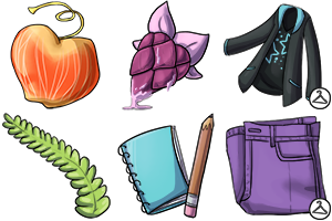 Kasaria Items Preview by sambeawesome