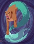 Mermaid Goes RAWR
