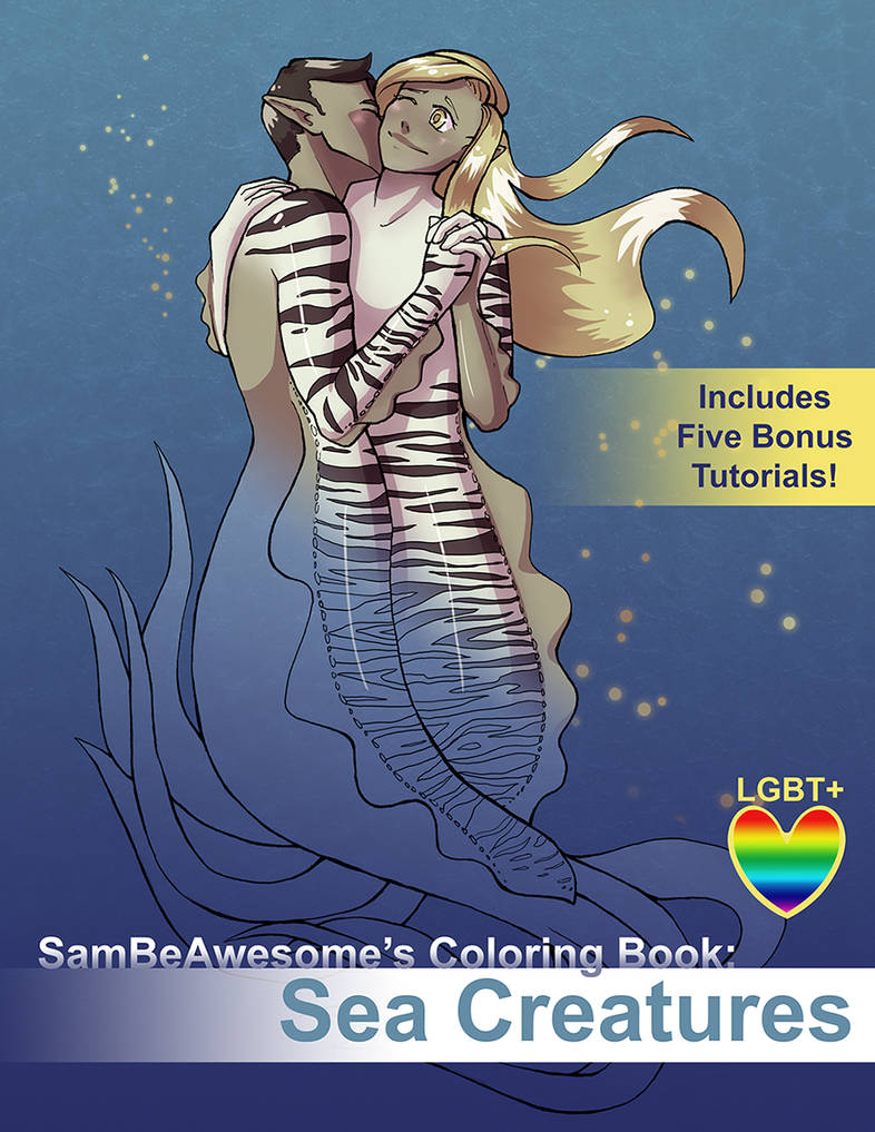 Coloring Book: Sea Creatures - NOW AVAILABLE!