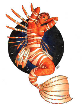 Lionfish Merman Guy v2