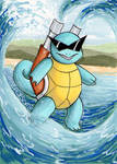 Squirtle! by sambeawesome