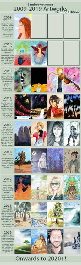 09-19 Improvement - Traditional Paintings