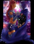 Starfire x Raven