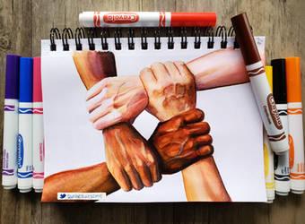 Crayola Hand Study