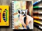 lemur by sambeawesome