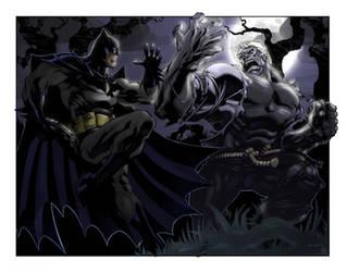 Batman vs. Solomon Grundy by spidermanfan2099