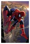 Spiderman - morning swinger