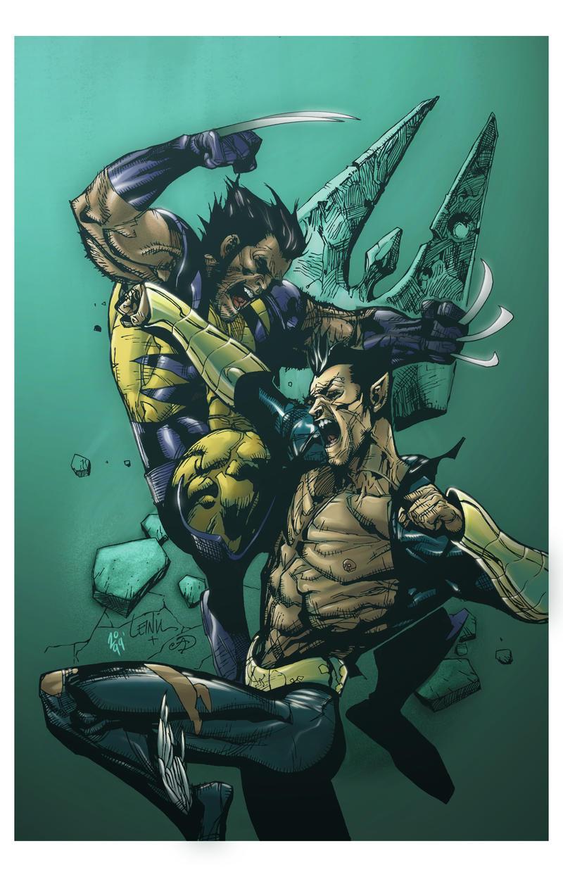 Wolverine vs. Namor