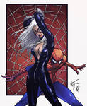 Spidey and the Booty by spidermanfan2099