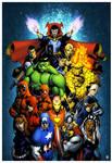 Marvel Origins coloured