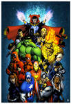 Marvel Origins coloured