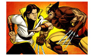 Karate Kid vs Wolverine