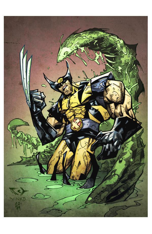 Swamped Wolverine by spidermanfan2099