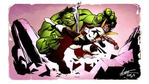 Karate Kid vs The Hulk