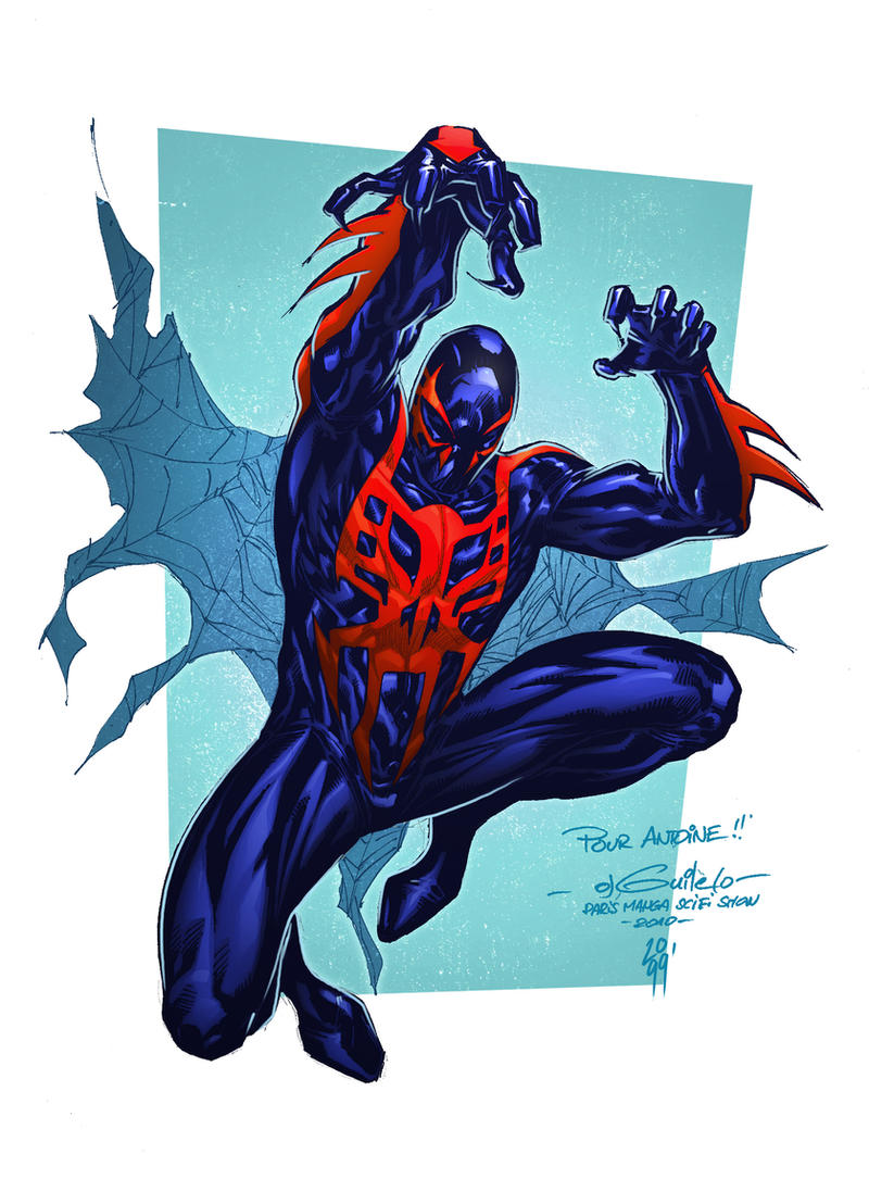 Spider Man 2099 by spidermanfan2099