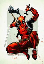 Deadpool by Ratkins by spidermanfan2099