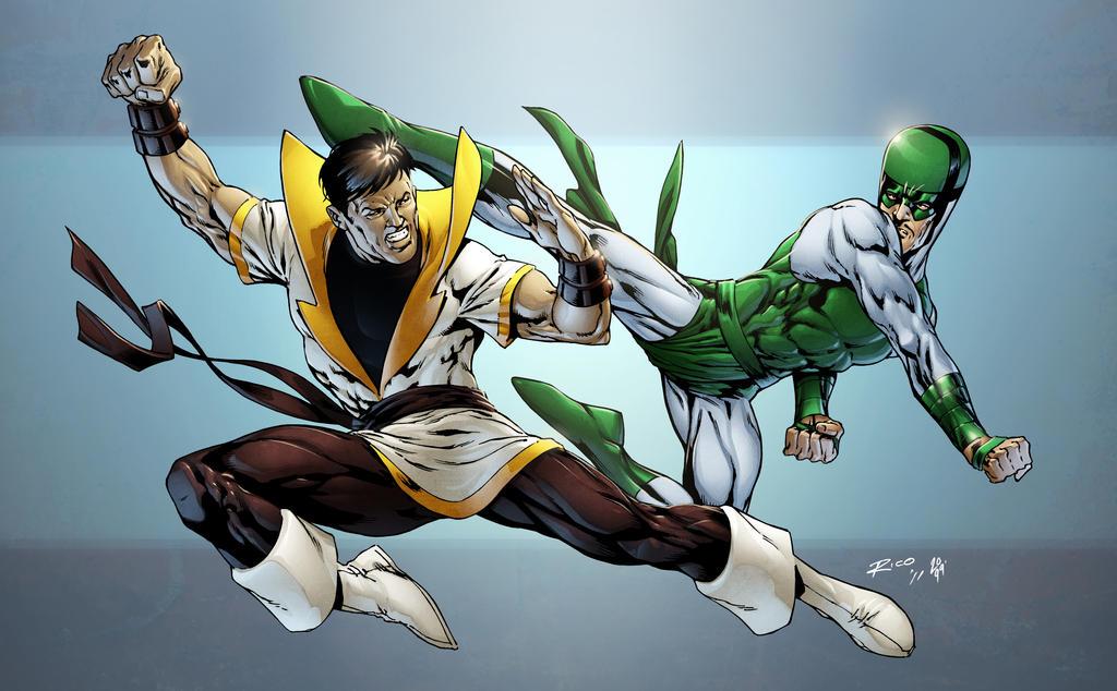 Karate Kid vs Karnak by spidermanfan2099