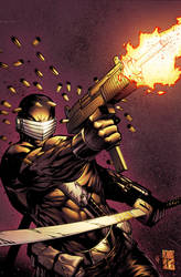 SnakeEyes 2 Cover B by spidermanfan2099
