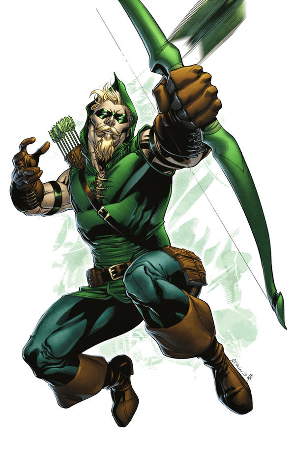 Green Arrow by spidermanfan2099
