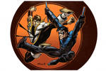 Karate Kid vs Nightwing