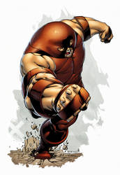 Juggernaut by spidermanfan2099