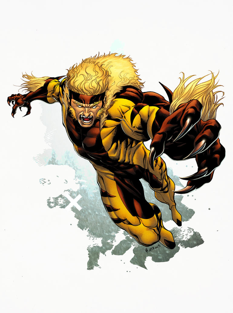 Sabretooth by spidermanfan2099