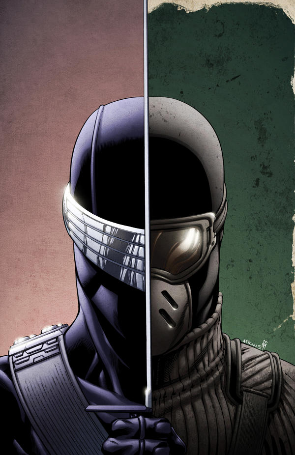 SnakeEyes 7 Cover by spidermanfan2099