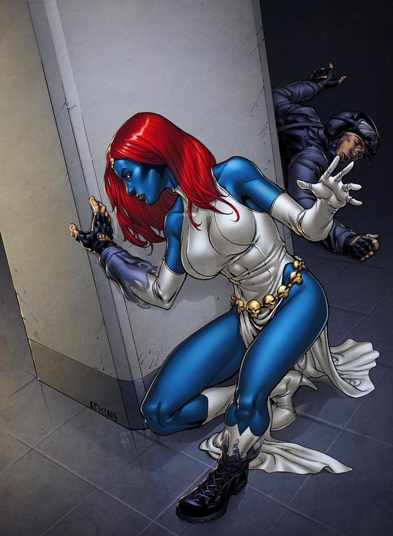 Mystique by spidermanfan2099